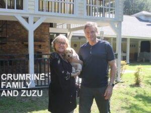 The Crumrine family and Zuzu