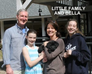 The Little family and Bella