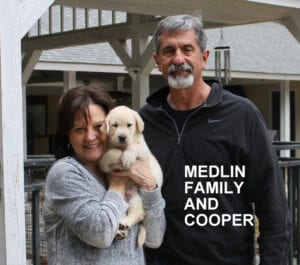 The Medlin family and Cooper