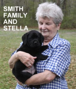 The Smith family and Stella