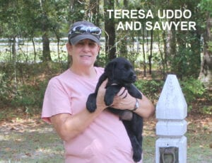 The Uddo family and Sawyer