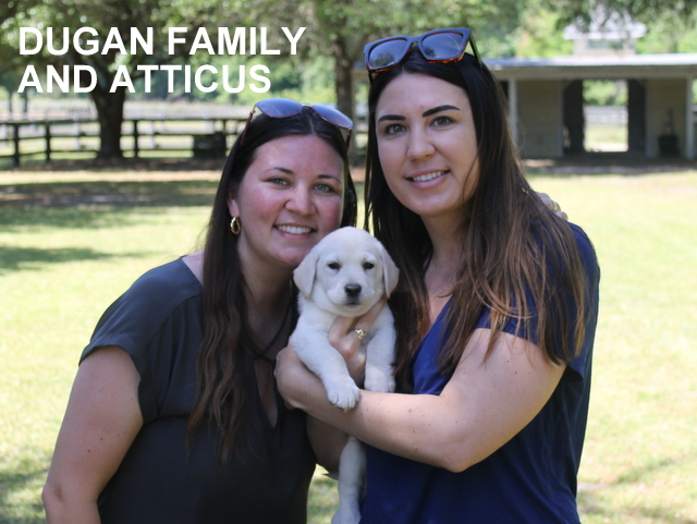 The Dugan family and Atticus
