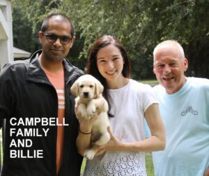 The Campbell family and Billie