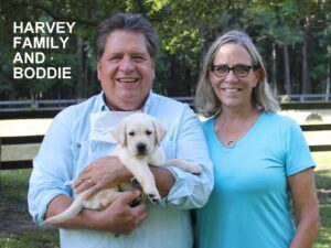The Harvey family and Boddie