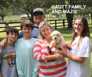 The Hautt family and Mazie