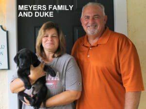 The Meyers family and Duke