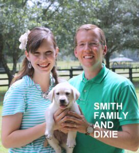 The Smith family and Dixie